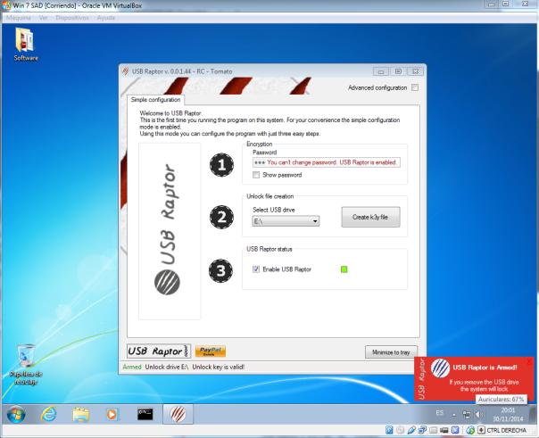 USB Raptor8