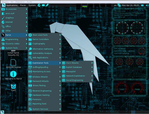 Parrot OS2